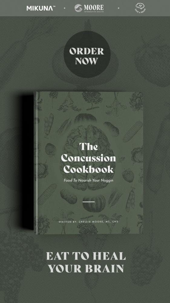 The Concussion cookbook